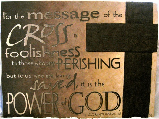 message of the cross sm