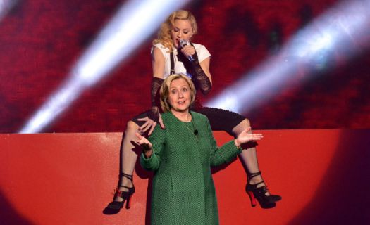 hillary-and-madonna