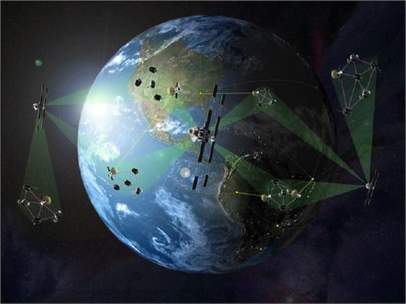 satellites-orbiting-earth