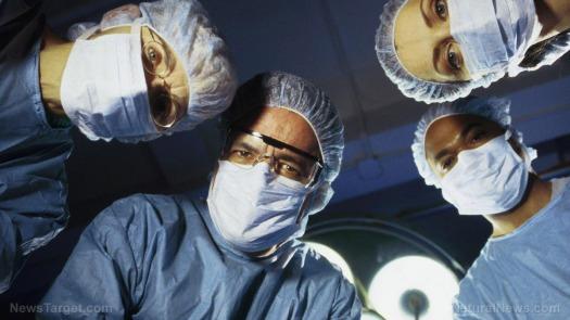 team-doctors-looking-down