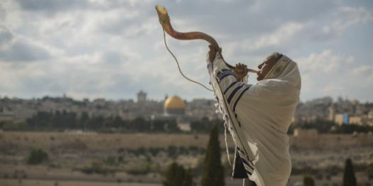 shofar-temple-mount-rosh-hashana-tallit-prayer-jerusalem