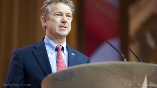 editorial-use-rand-paul-podium