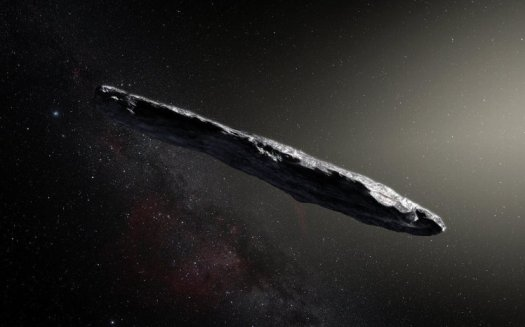 Lost interstellar asteroid enters solar system