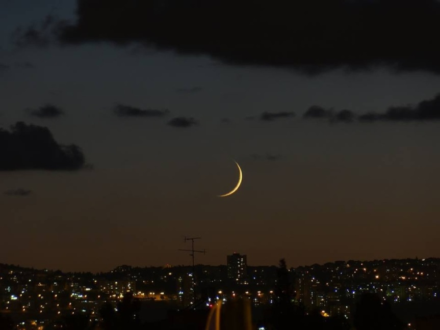 Shalom, New Moon – March 8,2019