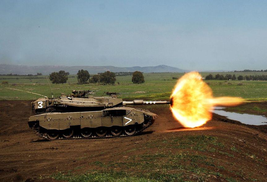 israeli-tank-israel-defense-forces