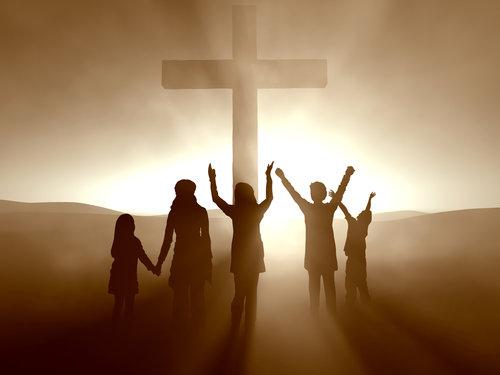 Kids at the Cross of Jesus Christ