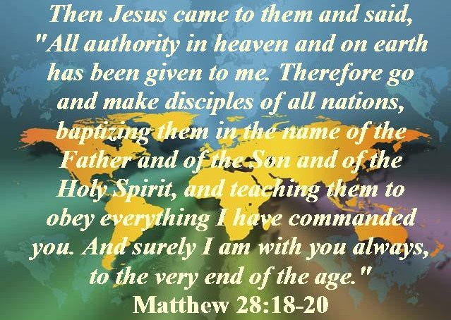 Your Daily Readings – Verse of the Day – Matthew 28:18 – March 23,2019