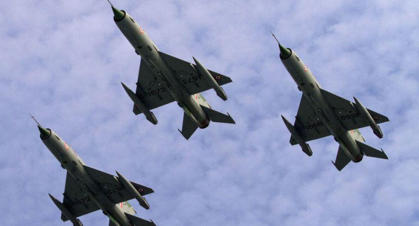 Indian MiG-21 Bison Crashes Near PakistaniBorder
