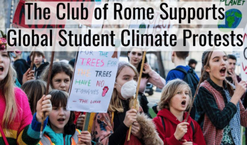 Busted: Club Of Rome Reveals Gushing Support For Green New Deal