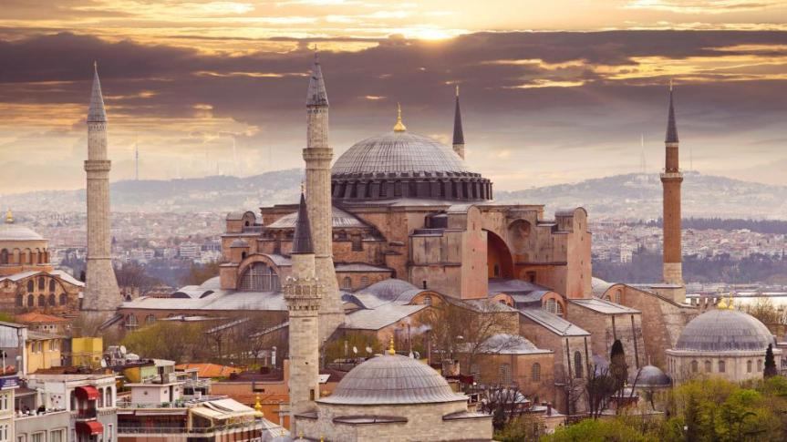 Furious Over Trump's Decision on Golan Heights, Erdogan Confirms Hagia Sophia Will Become aMosque