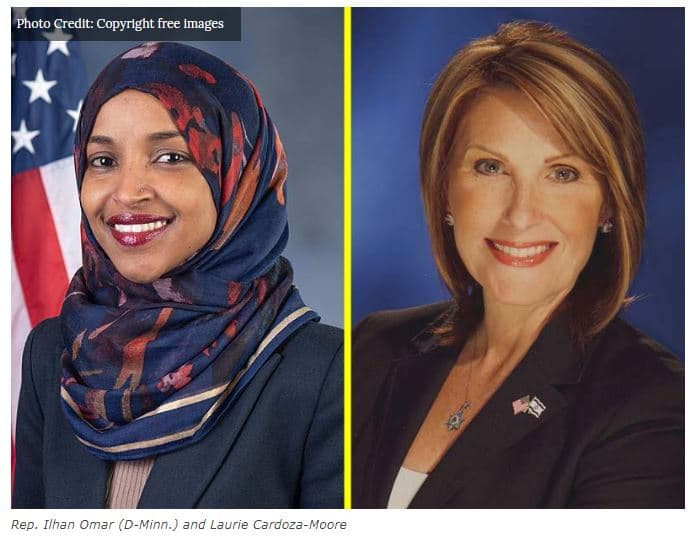Evangelical Leader Cardoza-Moore: Ilhan Omar Represents Hamas in Congress