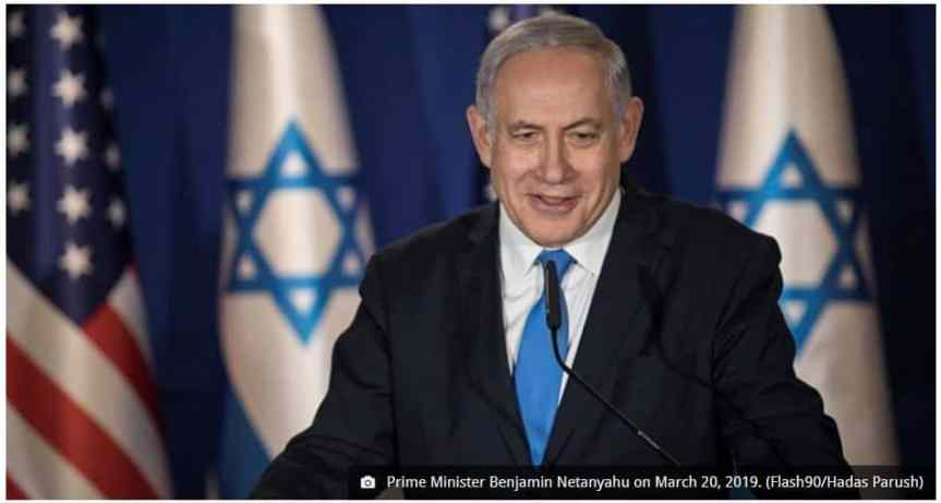 Netanyahu Says 'NO' to Palestinian State – I will not divide Jerusalem!