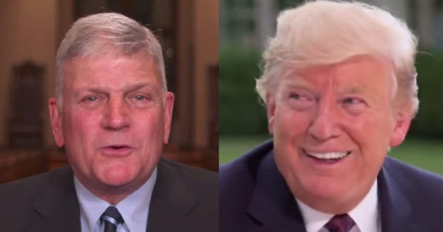 Rev. Franklin Graham Calls for Day of Prayer for Trump