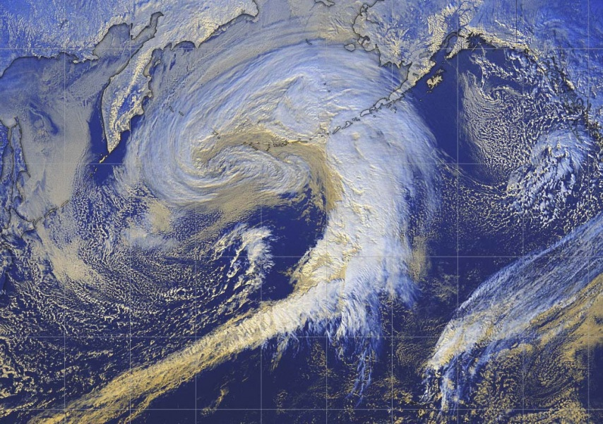 Freak Double Bombogenesis Cyclone Engulfs Alaska Just Five Days After Another Explosive Cyclogenesis Exploded in Heavy Winterstorm