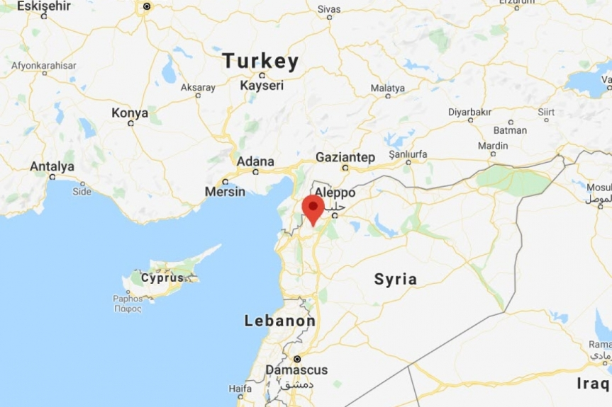 TURKISH ARMY COMMENCES ARTILLERY ATTACKS AGAINST SYRIAN ARAB ARMY AND RUSSIAN BASE INSYRIA