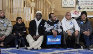 "Iowa: Muslims unite behind Bernie to screams of ""Allahu akbar"""