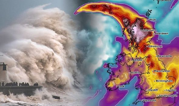 Storm Ciara: 200 flights CANCELLED as brutal storm morphs intoWEATHERBOMB