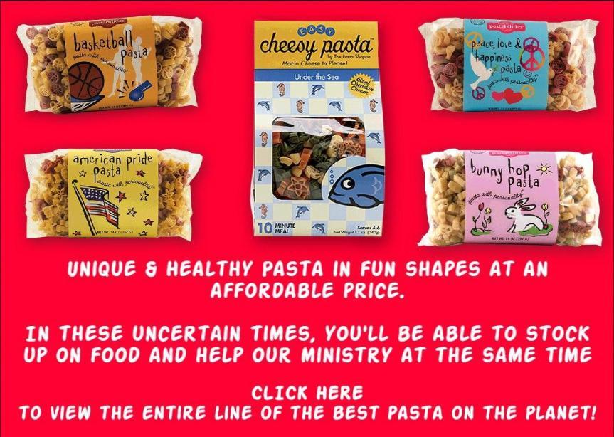 pasta fundraising ad 2