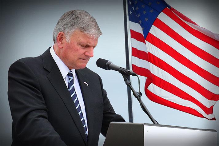 Franklin Graham Calls for Nationwide PrayerToday
