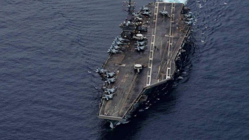 'Not intimidated': US Navy tweets sharp comeback to China on 'aircraft carrierkiller'