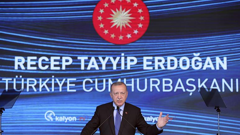 Turkey's Erdogan announces discovery of large natural gas reserve off its Black Seacoast