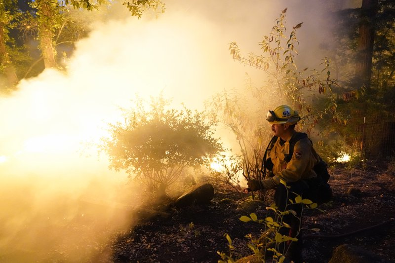 In just a week, wildfires burn 1 million acres inCalifornia