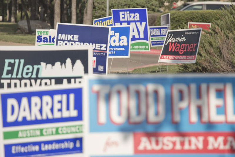 Political yard signs are the credo of a Globalist Religion