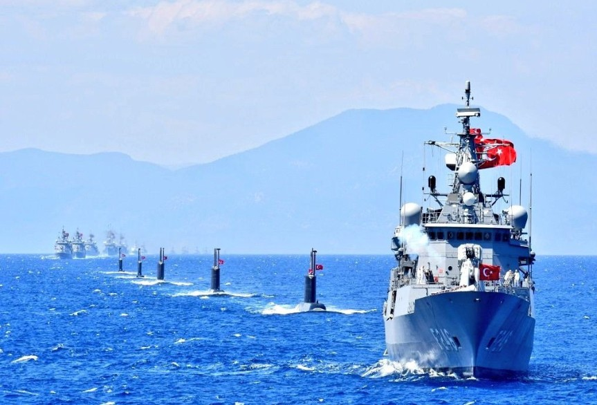 Turkey Flexes Military Muscle in Maritime Feud WithGreece