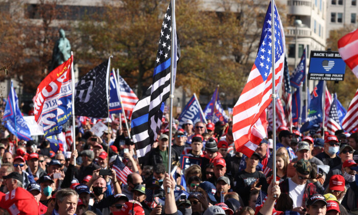 Massive Crowds March in DC to Show Support for Trump, Demand Election Integrity