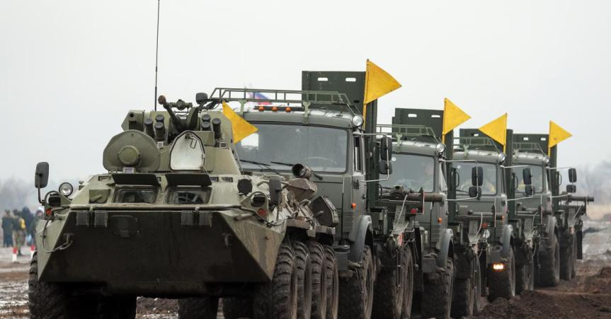 Russian troop movements shouldn't scare anyone, Moscow says. But others watch withalarm