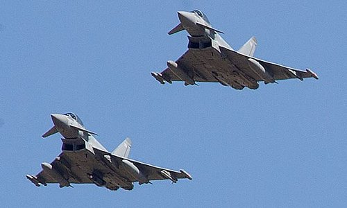 RAF jets prepare to fly to Romania as war fears explode amid Russiathreat