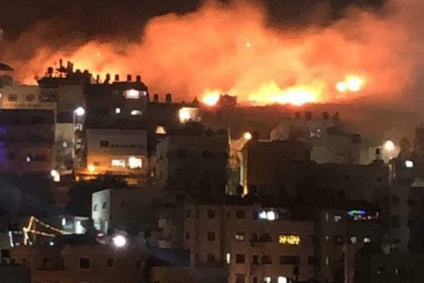 ISRAEL GROUND FORCES JOIN AIR FORCES ATTACKINGGAZA