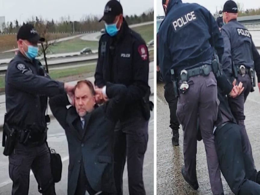BREAKING: Calgary Pastor Artur Pawlowski ARRESTED moments after churchtoday