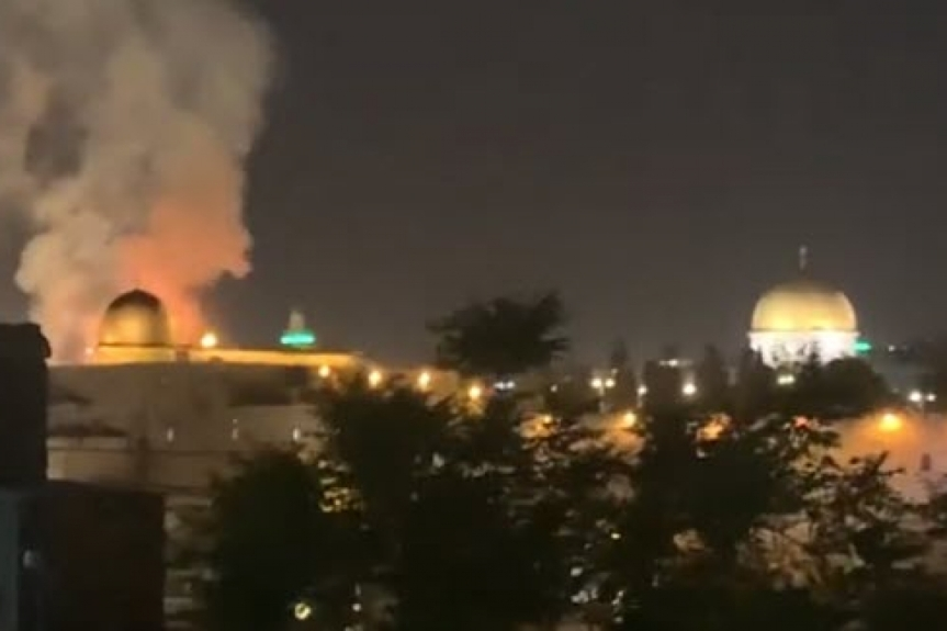 Bible Prophecy – Wars and Rumors of Wars – Psalm 83 War – 1:45 PM EDT — TEMPLE MOUNT BURNING — Bomb Shelters Opened as Rocket Barrages Hit Israel; Rocket Attack Sirens sounding in cities throughoutIsrael