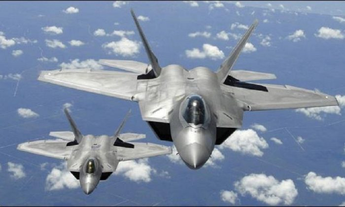 US Air Force to Launch Operation Pacific Iron 2021 in July, Including a Large Fleet of F-22Raptors