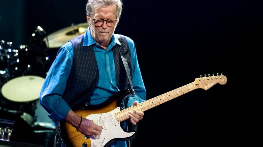 Eric Clapton Says He Reserves 'The Right To Cancel' Shows At Venues That Require Proof OfVaccination