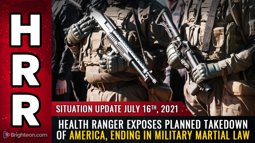 Health Ranger exposes planned takedown of America, ending in martial law, halted elections and Holocaust-level mass extermination via spike proteininjections
