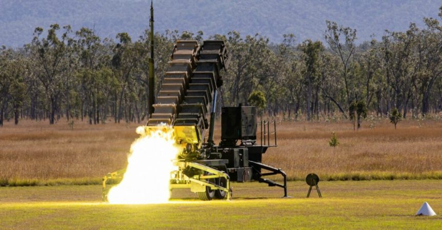 US Army Fires Patriot Missiles for First Time inAustralia