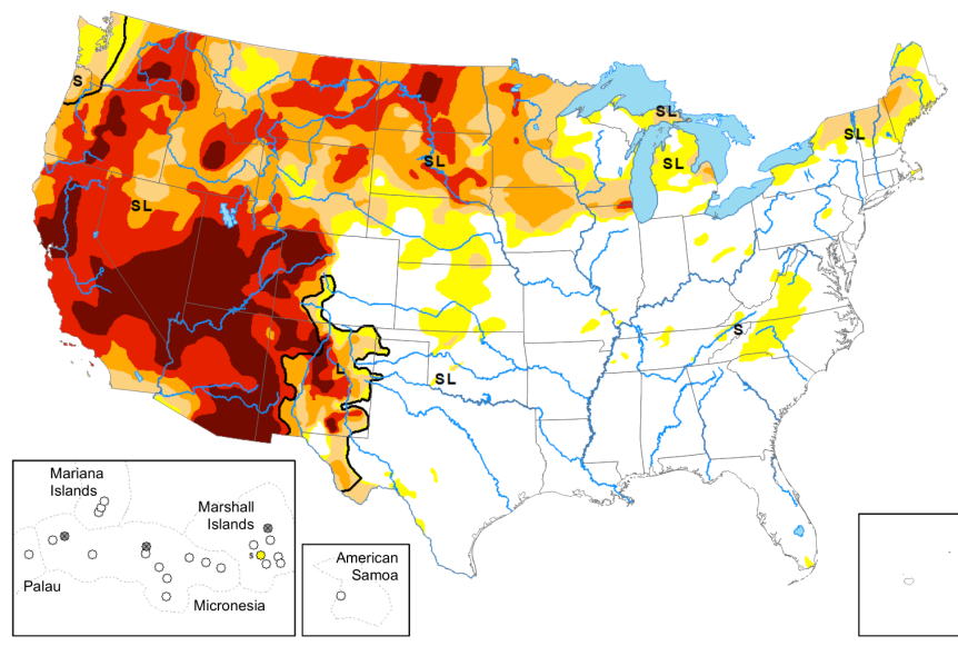 The Apocalyptic Drought In The Western U.S. Is Causing Widespread Crop Failures On A MassiveScale