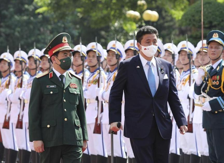 Japan, Vietnam gently coming together againstChina