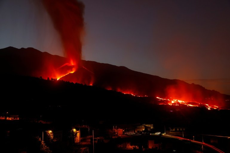 Rain forecast for La Palma: Officials fear torrents of water running down the volcano over the water-resistant lava and flash flooding already impacted cities andresidents