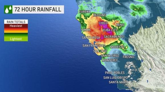 West Coast slammed by record-breaking bombcyclone
